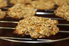 Recipe: Oatmeal, orange and banana cookies